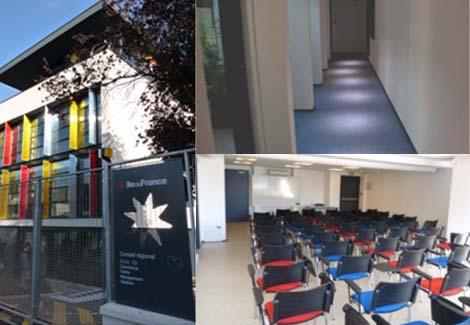 vue des salles de classes et acces handicapes