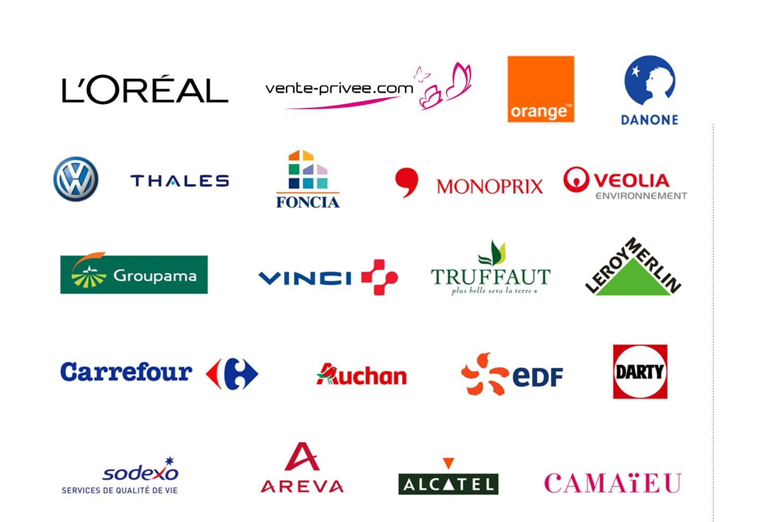 nombreuses entreprises partenaires